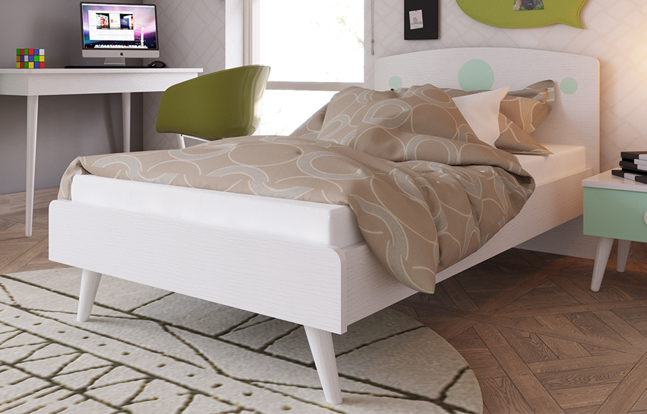 Kids bed 120 cm (SHELL 1)