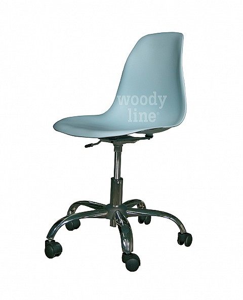 STYLE SWIVEL DESK CHAIR LIGHT BLUE