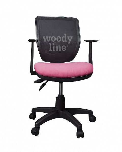 SMART SWIVEL DESK CHAIR PINK