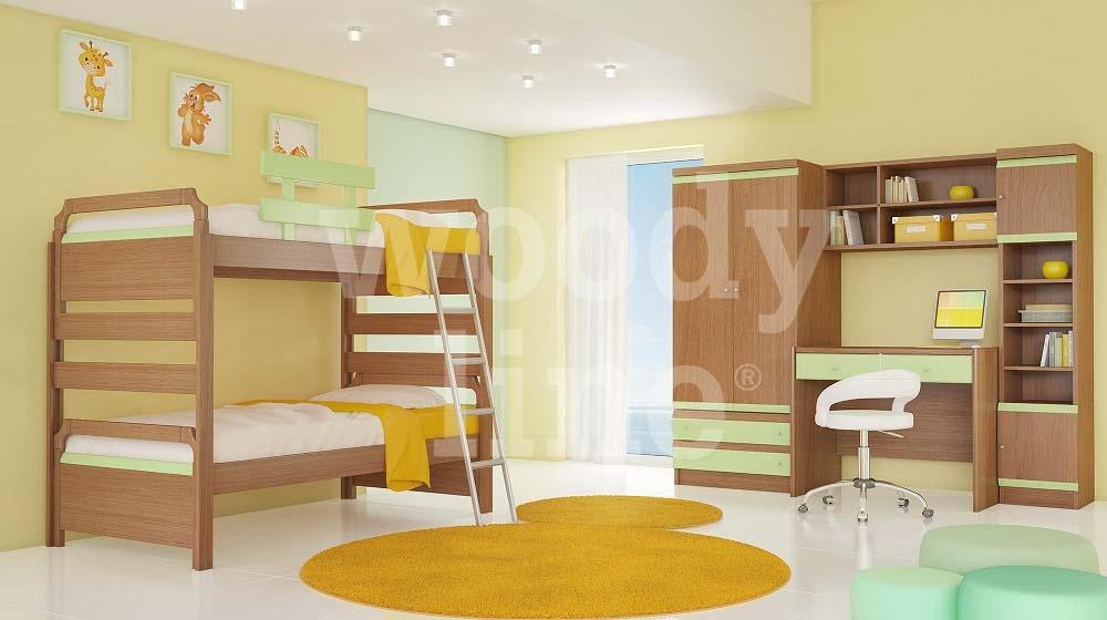 ΠΑΙΔΙΚΑ ΕΠΙΠΛΑ - ΝΕΑΝΙΚΑ ΕΠΙΠΛΑ - Παιδικά δωμάτια από ξύλο μασίφ - MDF  καπλαμά- Παιδικό δωμάτιο ΦΑΛΤΣΟ 4 Ξύλο Ανεγκρέ Χρώμα Ανεγκρέ - Λάκα Νο. 2  ... 56d5be20aa4